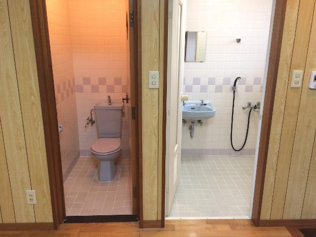 浴室トイレ施工前